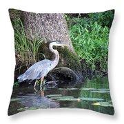 Stalked Throw Pillow