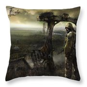 S.t.a.l.k.e.r. Throw Pillow
