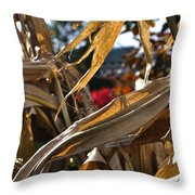 Stalks Throw Pillow