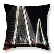 Stan Musial Veterans Bridge Throw Pillow