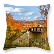 Stand By Me - Paint Throw Pillow