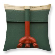 Stand Pipe Throw Pillow