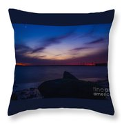 Stand Still Throw Pillow by Stephanie  Varner