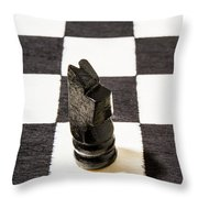 Stand Up For The Dark Horses Throw Pillow