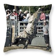 Stand Up Performance Throw Pillow by Gwyn Newcombe