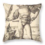 Standard Bearer Throw Pillow