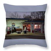Standard Oil Museum After Dark 18 Throw Pillow