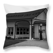 Standard Station No 4 Throw Pillow