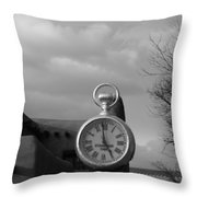 Standard Time  Throw Pillow