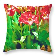 Standing At Attention Throw Pillow