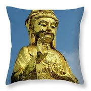 Standing Budda Throw Pillow