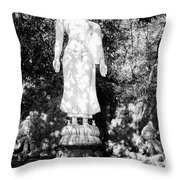 Standing Buddha Throw Pillow