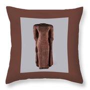 Standing Buddha Throw Pillow