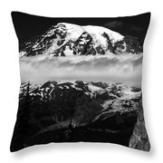 Standing In Awe Throw Pillow