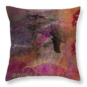 Standing In The Wind Throw Pillow