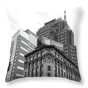 Standing On The Corner Throw Pillow