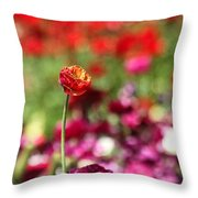 Standing Out Above The Crowd Throw Pillow