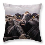 Standing Out In The Crowd Throw Pillow