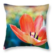 Standing Proud Throw Pillow