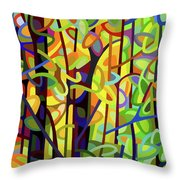 Standing Room Only - Crop Throw Pillow