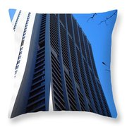 Standing Tall Chicago Throw Pillow