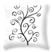 Standing Tall - Inverted  Throw Pillow