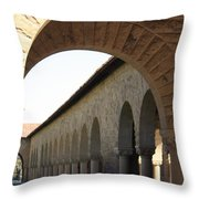 Stanford Memorial Court Arches I Throw Pillow