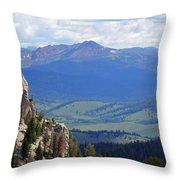 Stanley Basin Throw Pillow