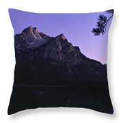 Stanley Lake, Id Throw Pillow
