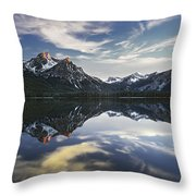 Stanley Lake Throw Pillow