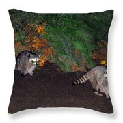 Stanley Park Rascals Throw Pillow