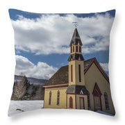 Stannard Church Throw Pillow