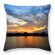 Stanton Lakes  Throw Pillow