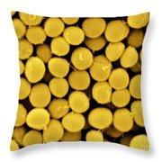 Staphylococcus Capitis Bacteria, Sem Throw Pillow