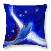 Star Bird Throw Pillow