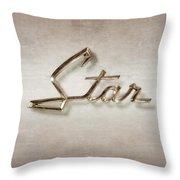 Star Emblem Throw Pillow