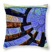 Star Gathering Throw Pillow