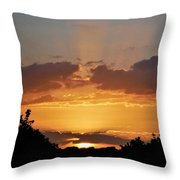 Star Glow Throw Pillow