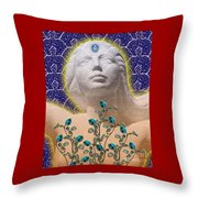 Star Goddess Throw Pillow