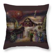 Star Of Bethlehem Throw Pillow