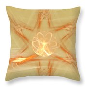 Star Of New Beginnings Throw Pillow