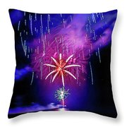 Star Of The Night Throw Pillow