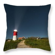 Star Search Square Throw Pillow
