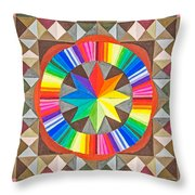 Star Series One Throw Pillow