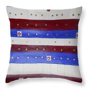 Star Spangled Banner Throw Pillow