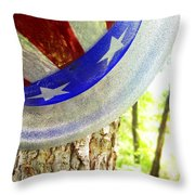 Star Spangled Hat Throw Pillow