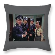Star Trek Patterns Of Force Episode Publicity Photo Number Two 1968 Throw Pillow