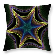 Star Twist Spiral Throw Pillow