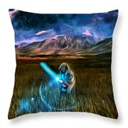 Star Wars Field Throw Pillow