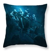 Star Wars Vs Aliens 1 Throw Pillow